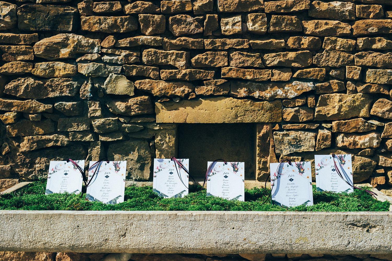 inspiration mariage papeterie domaine de la ruisselière plan de table jardin botanique
