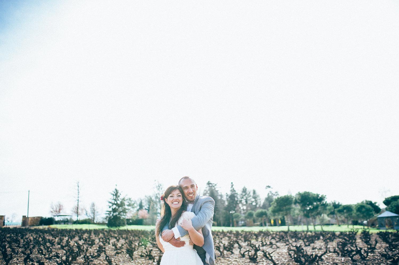 inspiration mariage photo couple beaujolais photo de couple dans les vignes