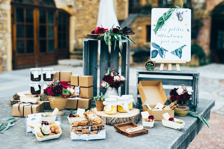 inspiration mariage cadeaux d'invités
