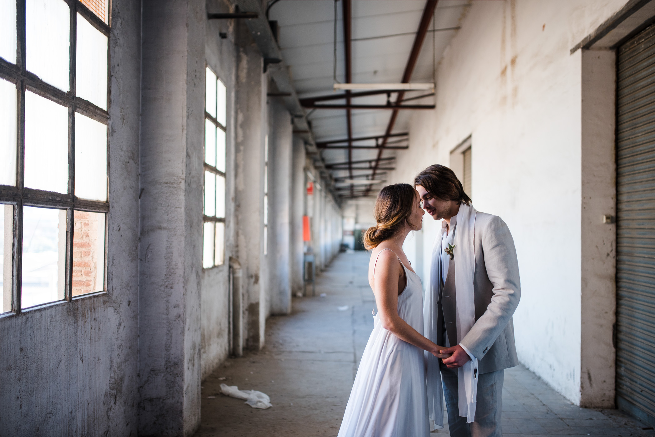 photo couple mariage industriel barcelone