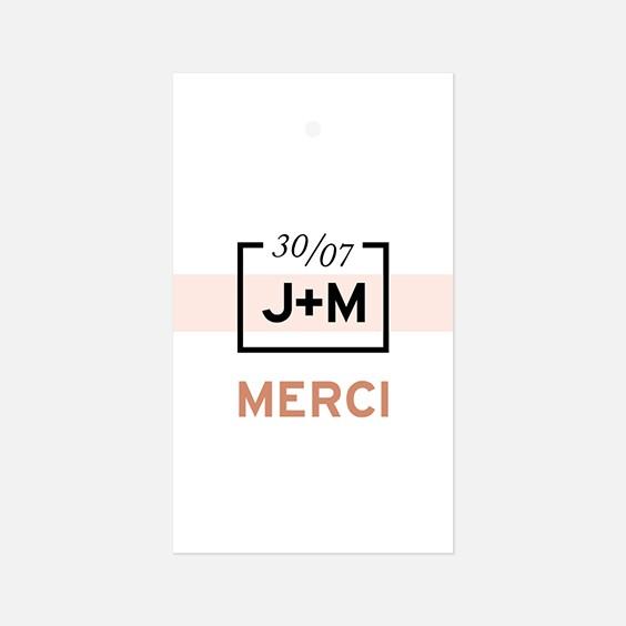Etiquette  géometrique, papeterie Papier marbre recto