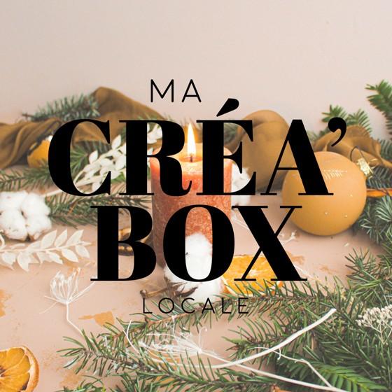logo Ma Créa'box locale créateur rhones alpes cadeau surprise offrir noel