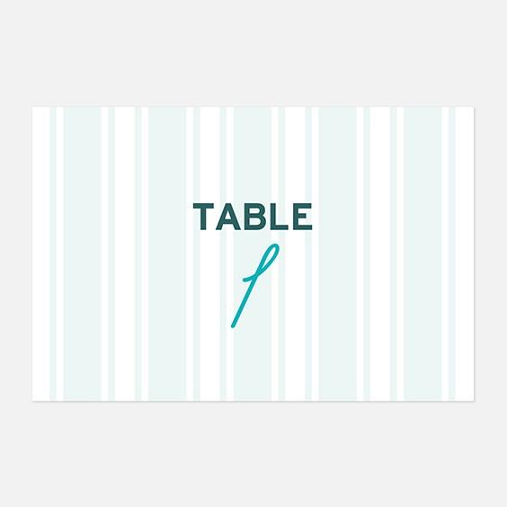 Numero de table  fleur, papeterie Dame-Jeanne recto
