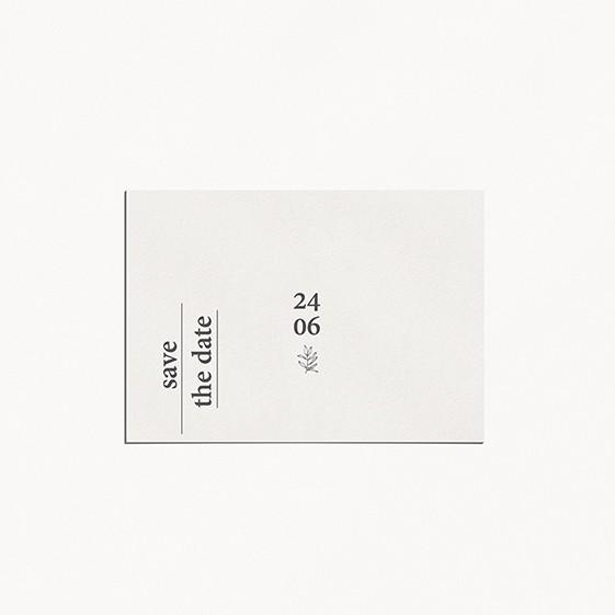 save the date minimaliste mariage minimalist moderne épuré
