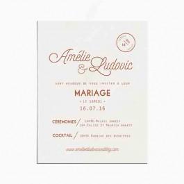 Faire Part Save The Date Et Toute La Papeterie De Votre Mariage
