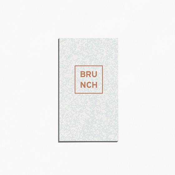 Brunch  géometrique, cuivre, papeterie Papier marbre