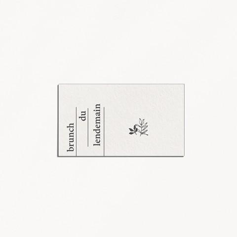 brunch minimalist mariage minimaliste moderne épuré