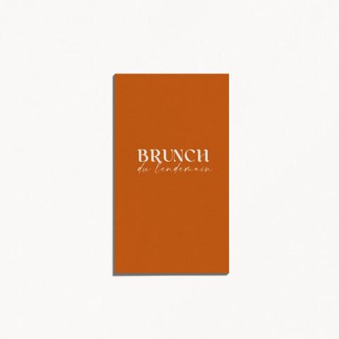 carton brunch mariage tutti frutti composition moderne fruits