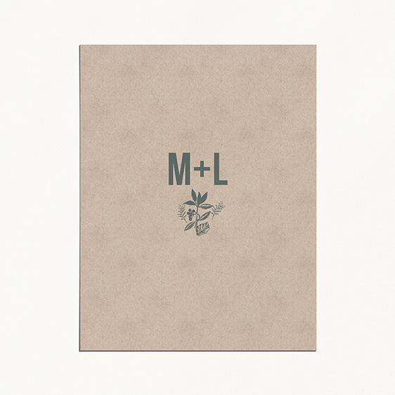 Faire-part de mariagepapier, champêtre, papeterie Folk & wood