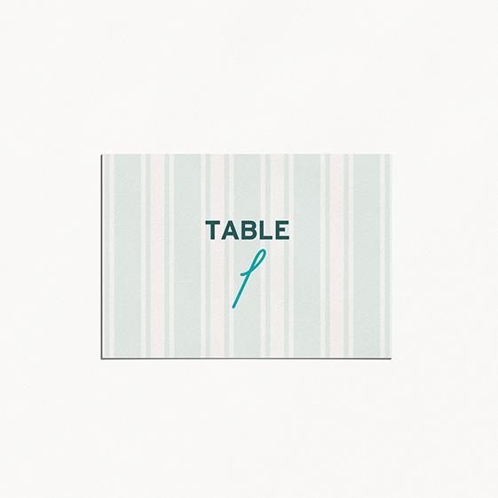 Numero de table  fleur, papeterie Dame-Jeanne