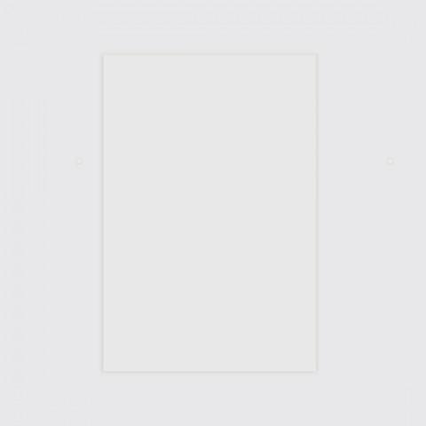 Panneau signalétique en plexi transparent à personnaliser sur mesure mariage natuel natura à poser