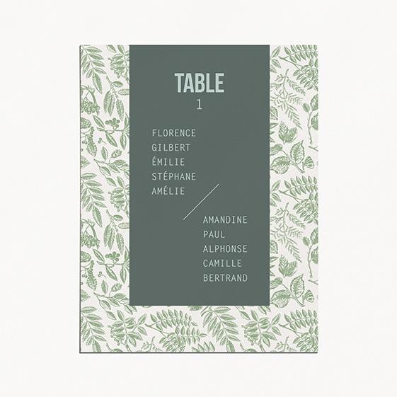 Plan de table de mariage bois, champêtre, papeterie Folk & wood en bois