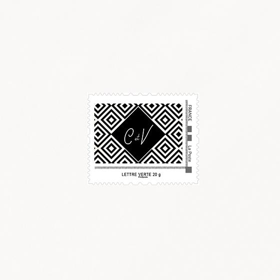 Visuel pour timbre  industriel, kraft, papeterie Indus