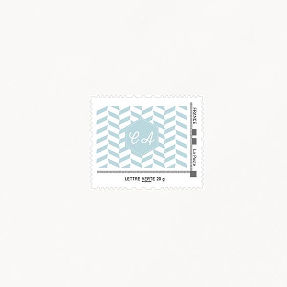Visuel pour timbre  kraft, hiver, papeterie Douceur scandinave