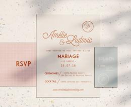 menu mariage bois rustique